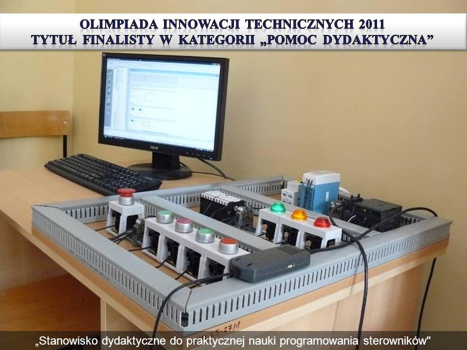 """OlimpiadA Innowacji Technicznych 2011 tytuł finalisty w kategorii """"Pomoc dydaktyczna"""