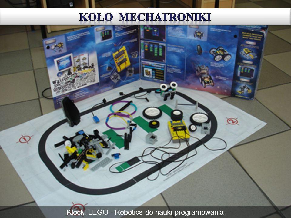 Klocki LEGO - Robotics do nauki programowania