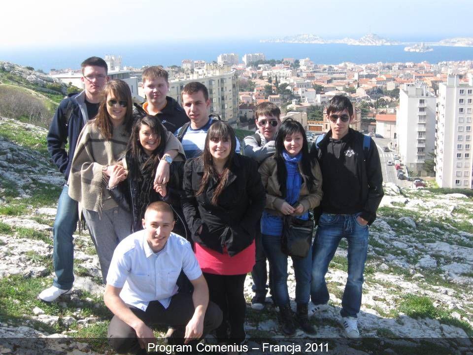 Program Comenius – Francja 2011