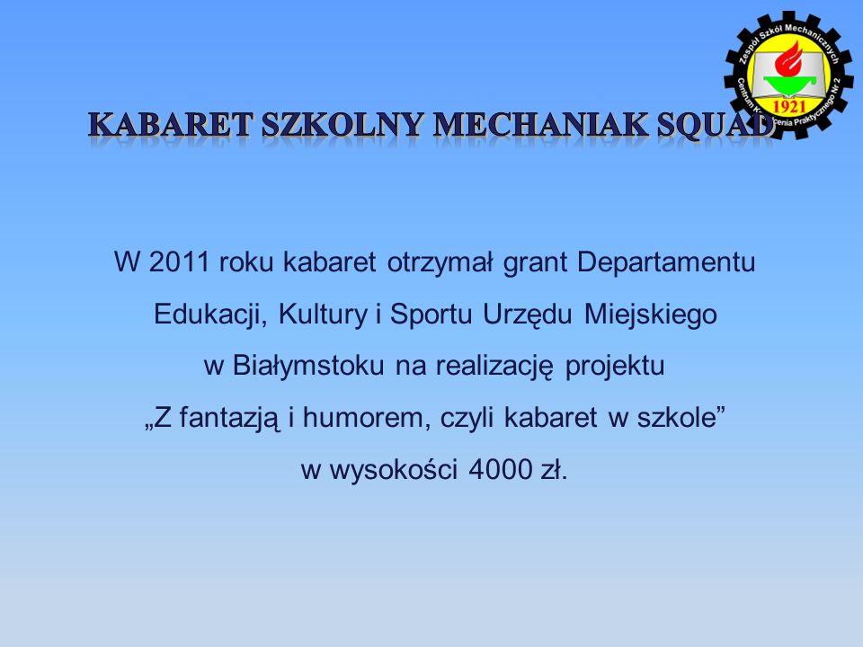 Kabaret szkolny Mechaniak squad