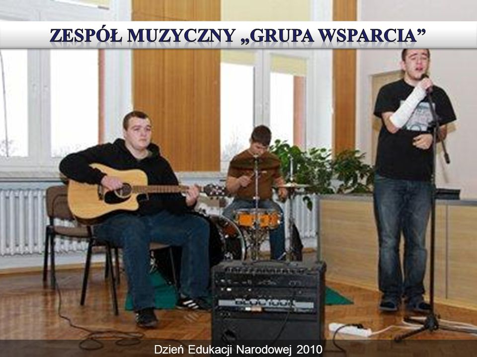 """Zespół muzyczny """"grupa wsparcia"""