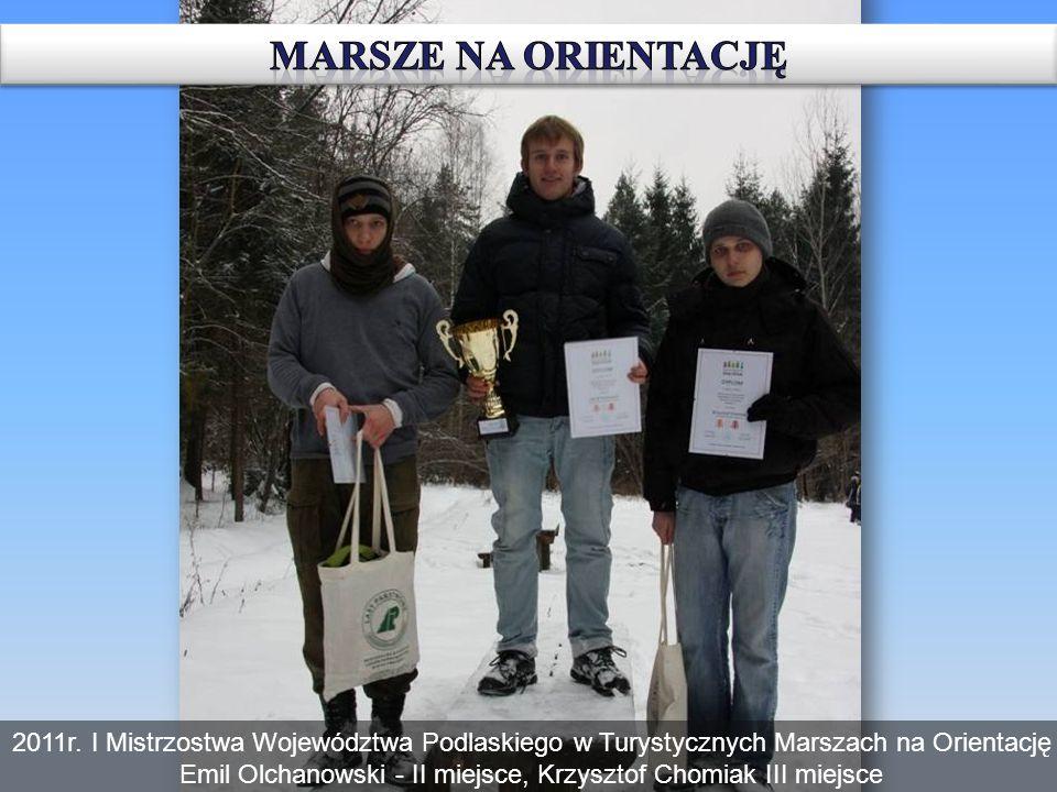 Emil Olchanowski - II miejsce, Krzysztof Chomiak III miejsce