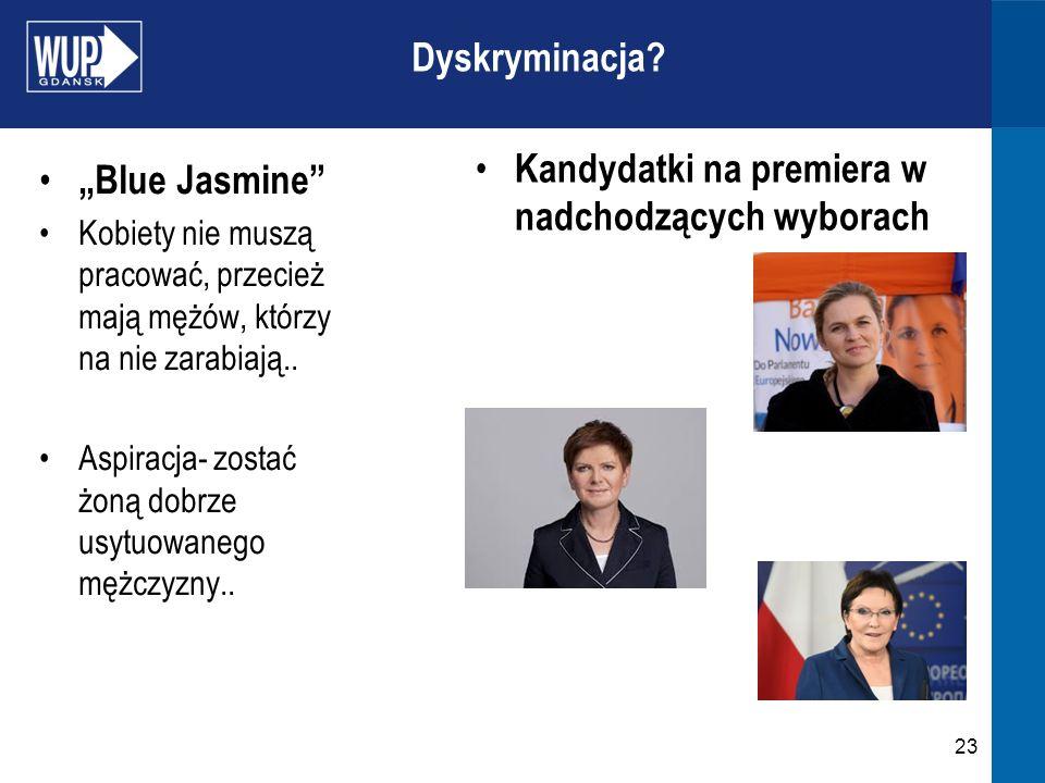 """Kandydatki na premiera w nadchodzących wyborach """"Blue Jasmine"""