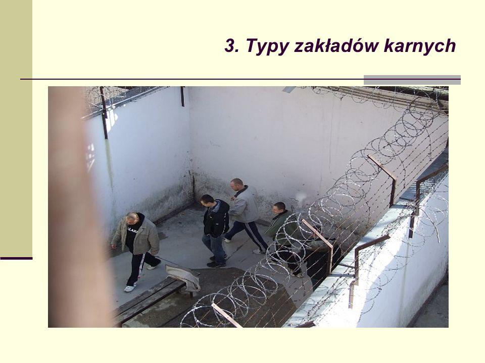 3. Typy zakładów karnych