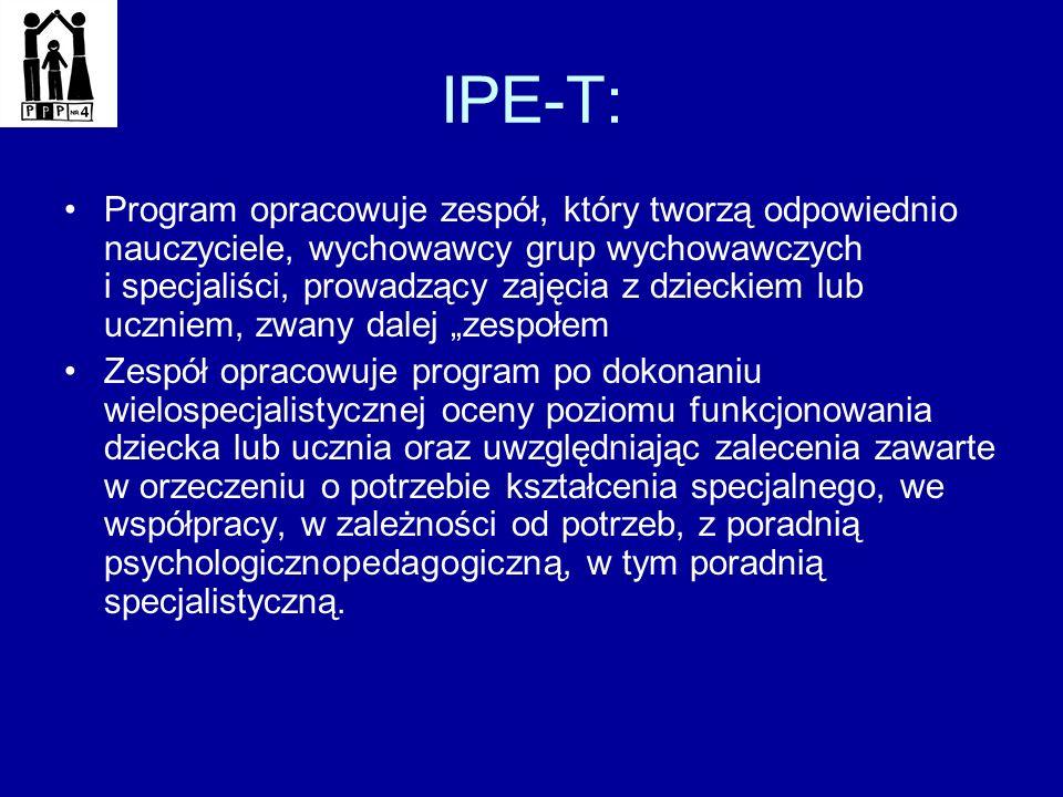 IPE-T: