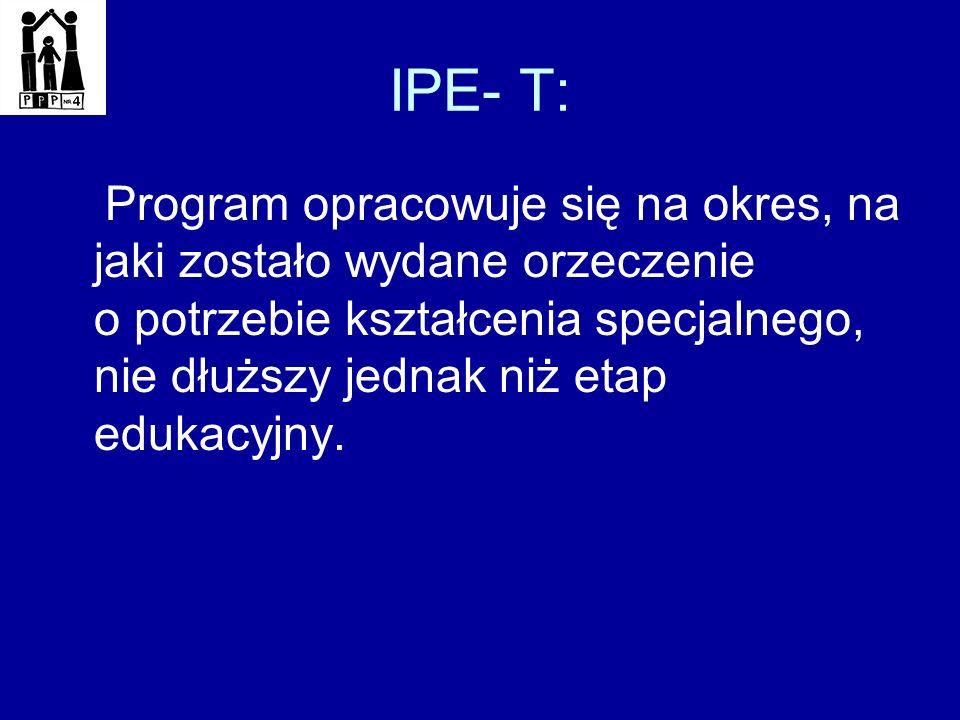 IPE- T: