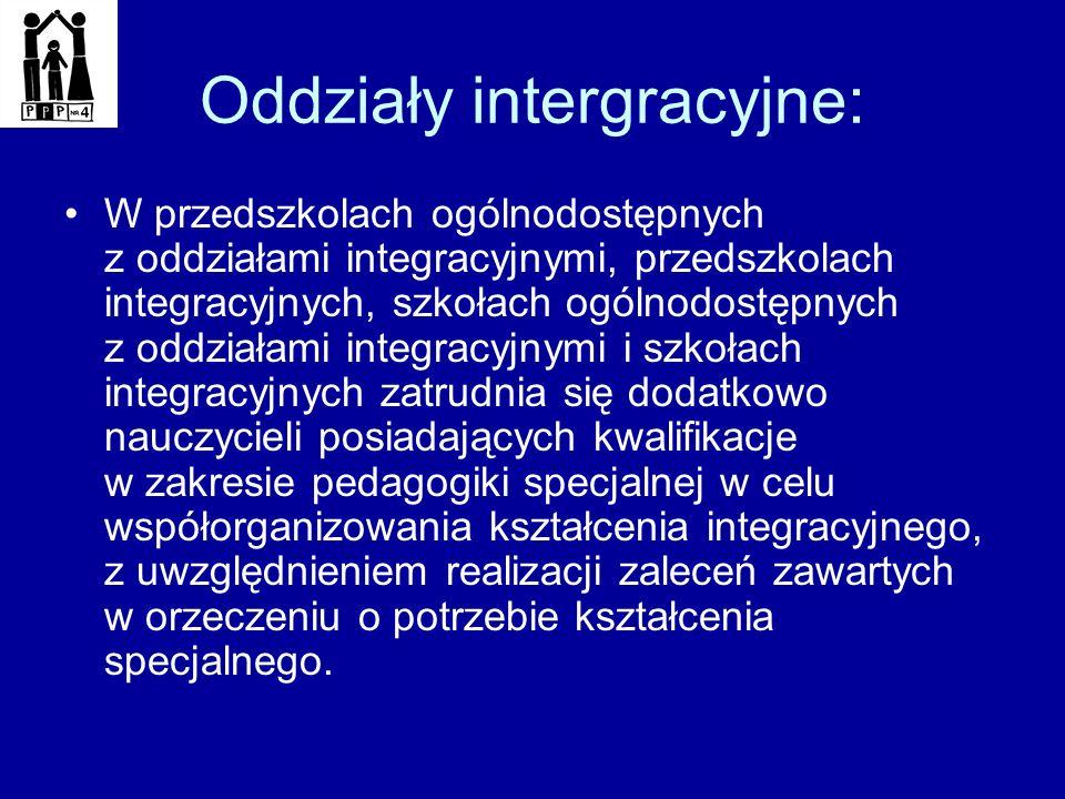 Oddziały intergracyjne: