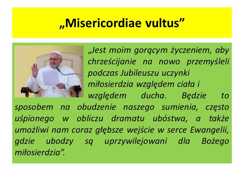 """Misericordiae vultus"