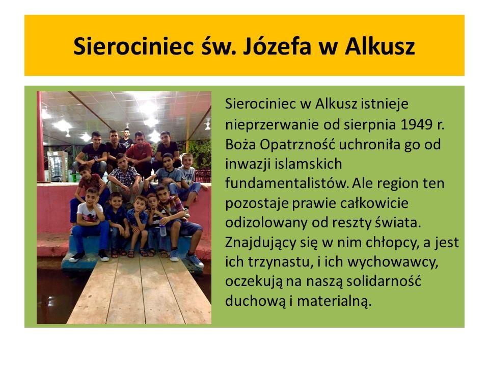 Sierociniec św. Józefa w Alkusz