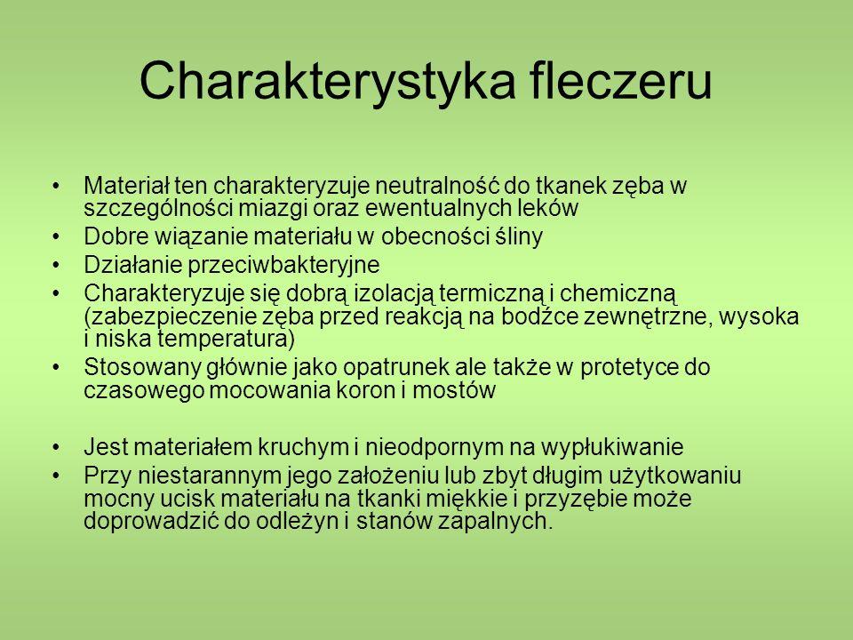 Charakterystyka fleczeru