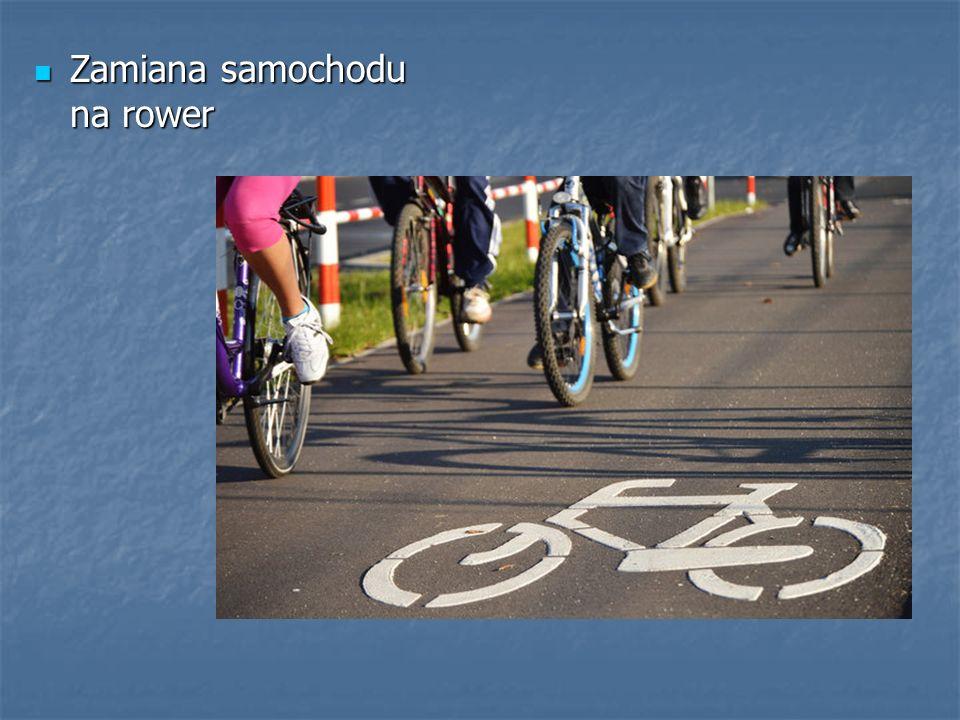 Zamiana samochodu na rower