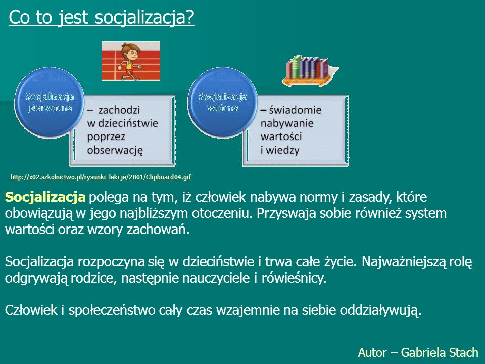 Co to jest socjalizacja
