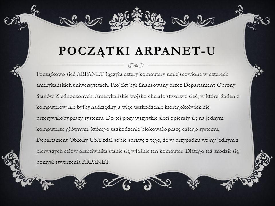 Początki Arpanet-u