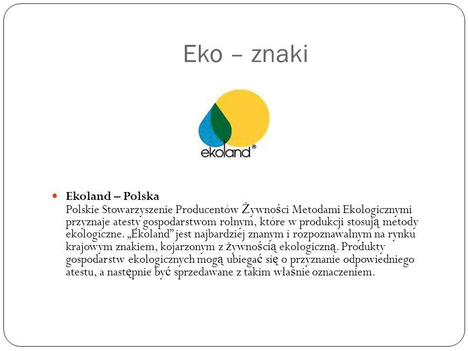 Eko – znaki