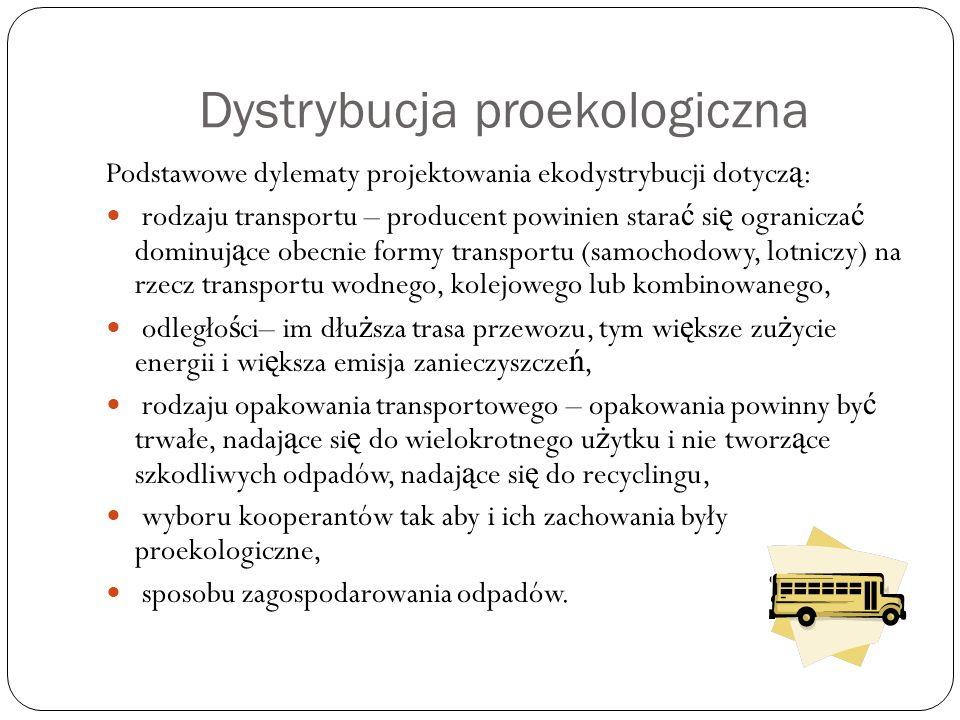 Dystrybucja proekologiczna