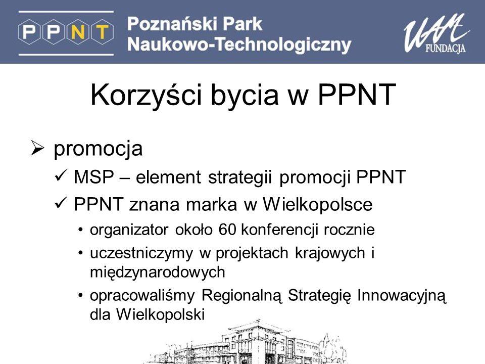 Korzyści bycia w PPNT promocja MSP – element strategii promocji PPNT