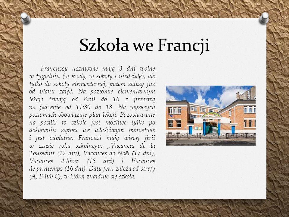 Szkoła we Francji