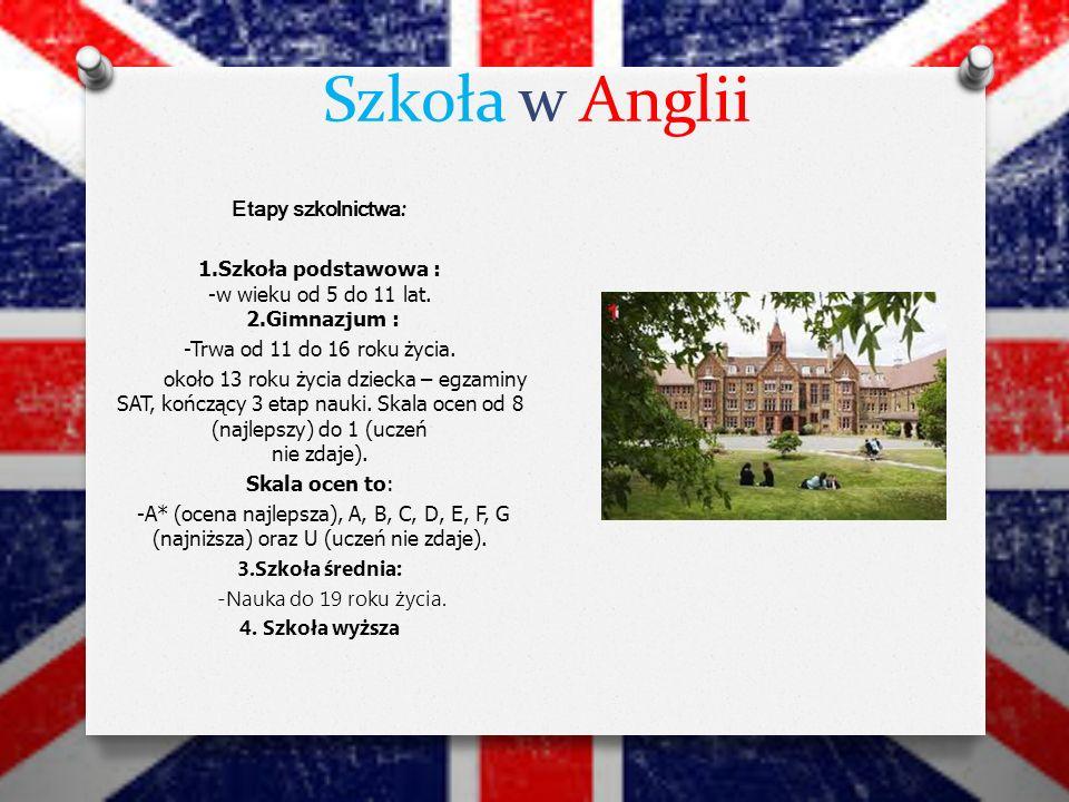 Szkoła w Anglii