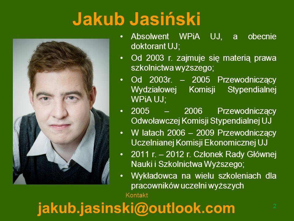 Jakub Jasiński jakub.jasinski@outlook.com