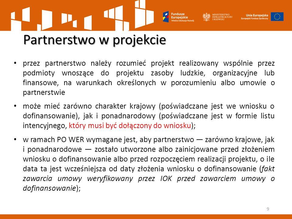 Partnerstwo w projekcie