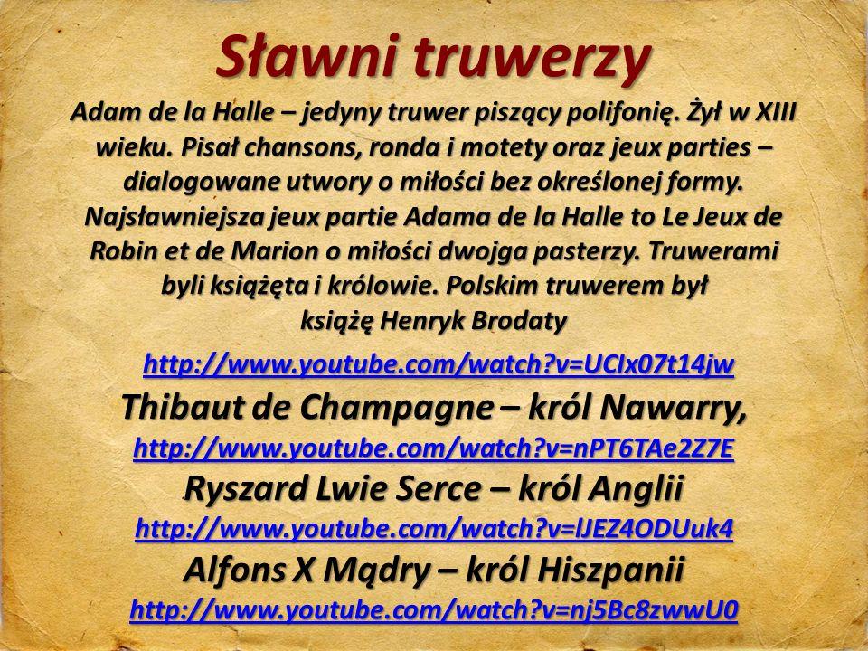 Thibaut de Champagne – król Nawarry,