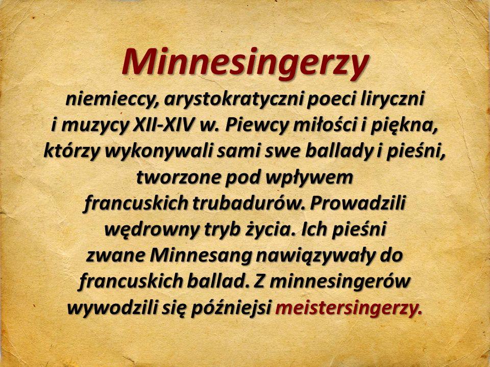 niemieccy, arystokratyczni poeci liryczni