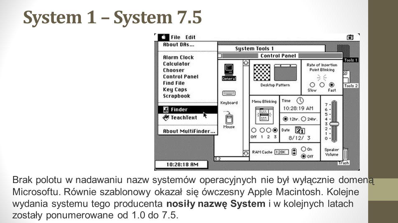 System 1 – System 7.5