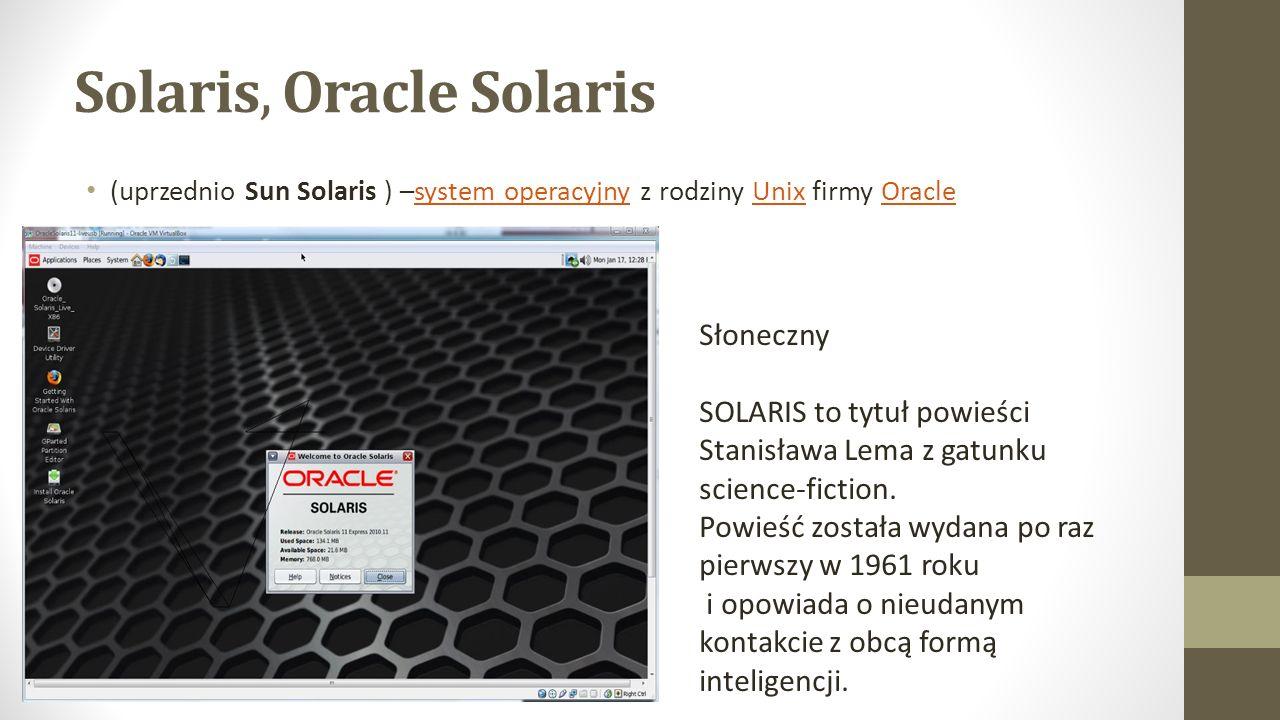 Solaris, Oracle Solaris