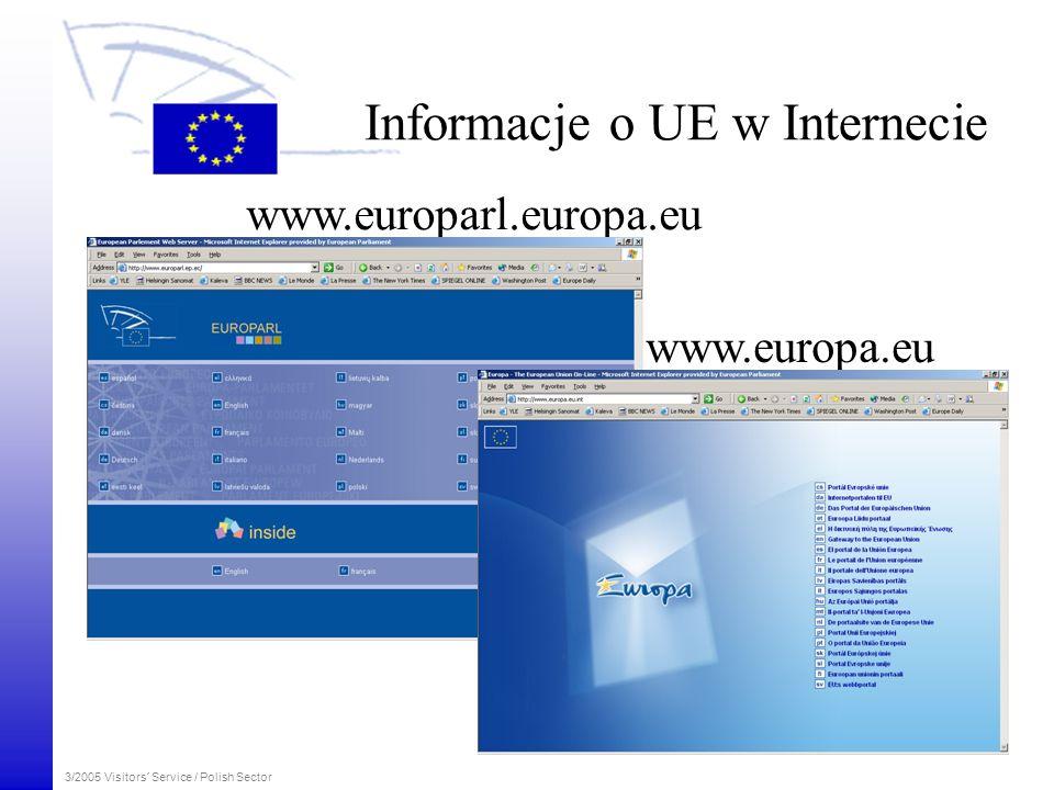 Informacje o UE w Internecie