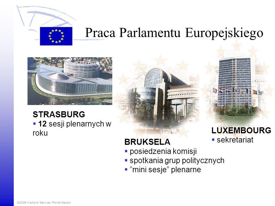 Praca Parlamentu Europejskiego
