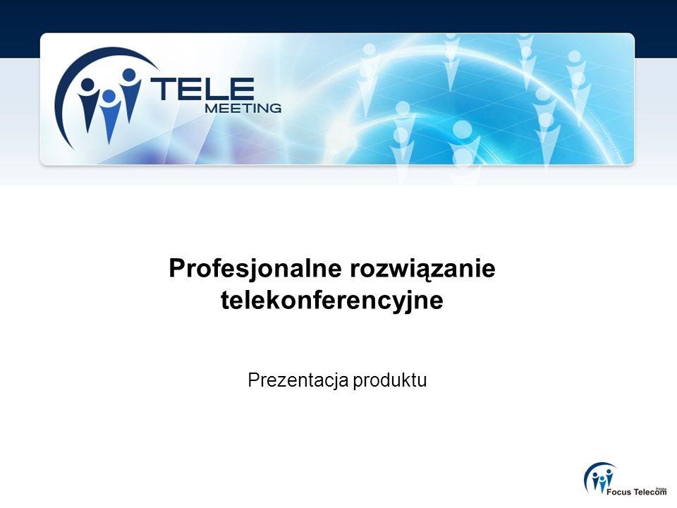 Profesjonalne rozwiązanie telekonferencyjne