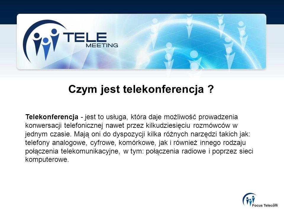 Czym jest telekonferencja