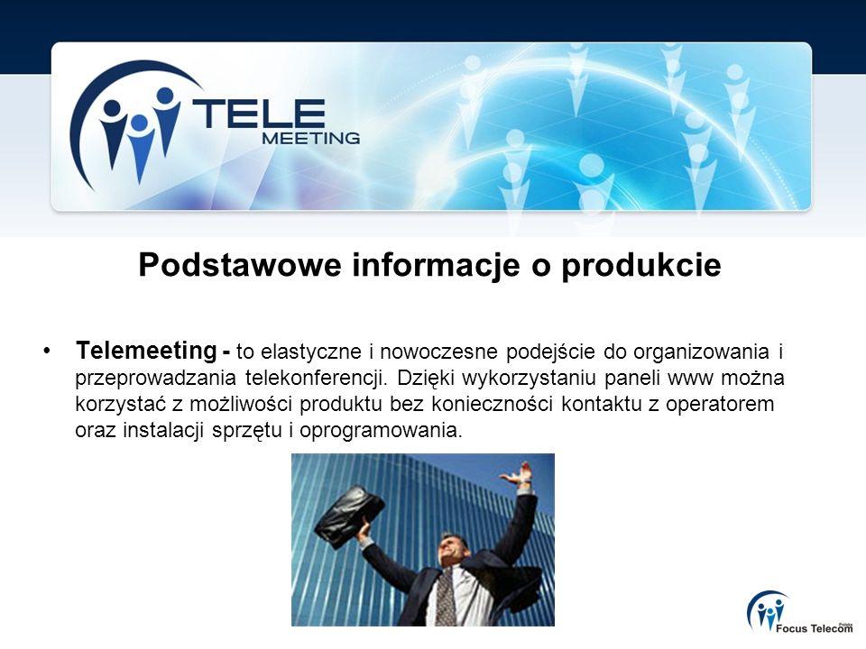 Podstawowe informacje o produkcie
