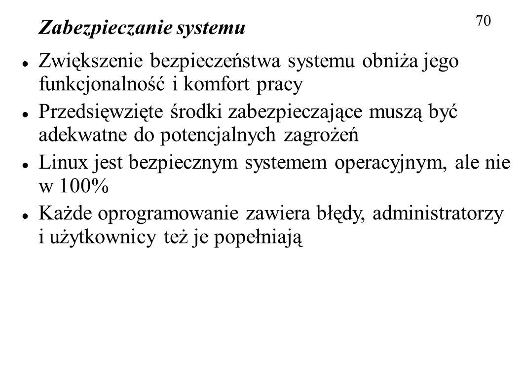 Zabezpieczanie systemu