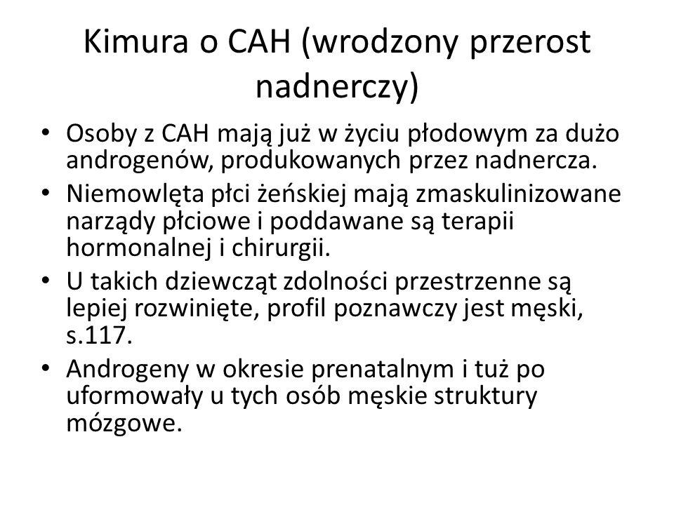 Kimura o CAH (wrodzony przerost nadnerczy)