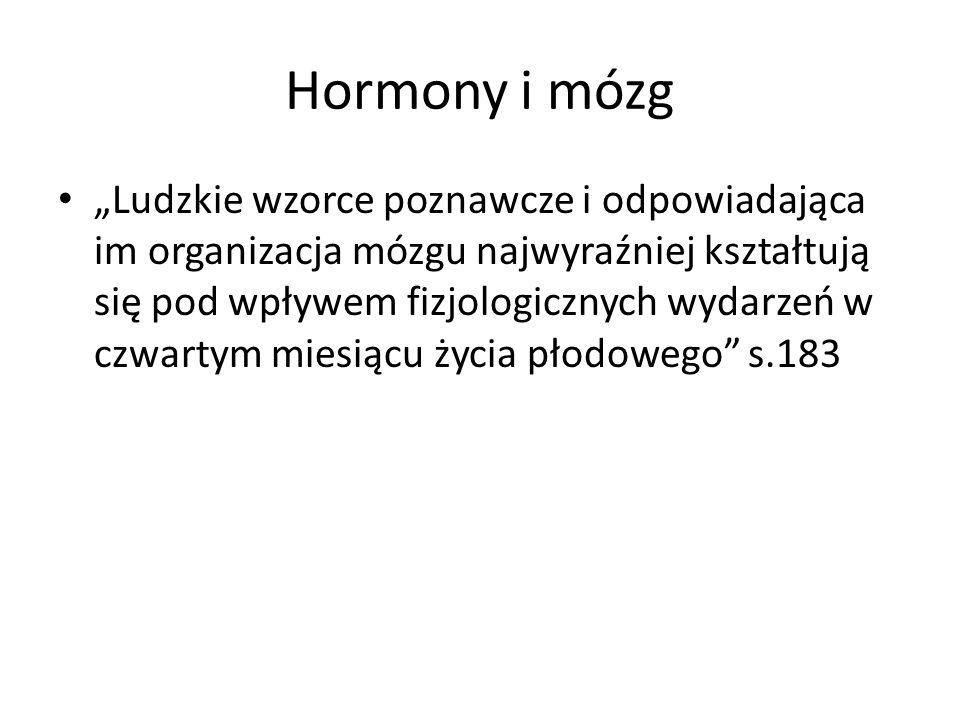 Hormony i mózg