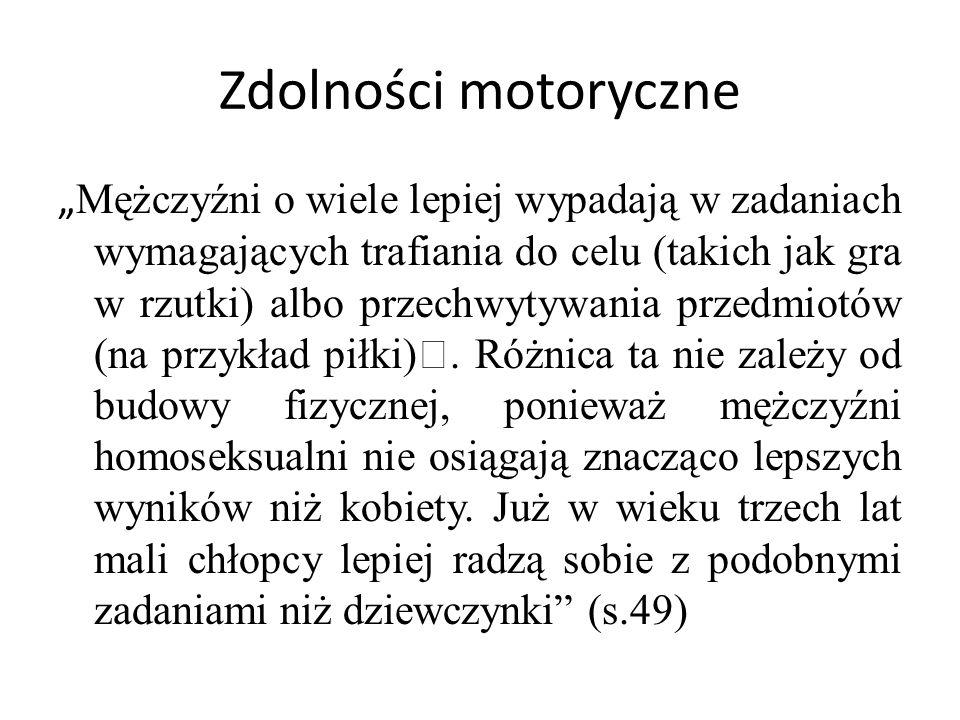 Zdolności motoryczne