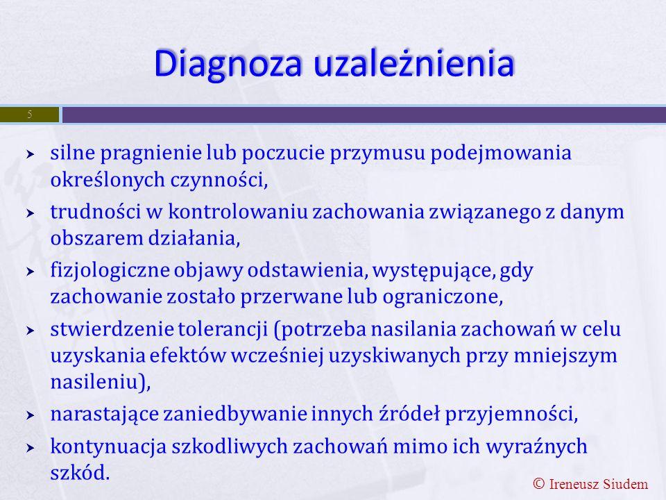 Diagnoza uzależnienia