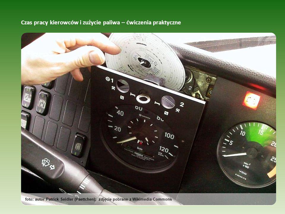Czas pracy kierowców i zużycie paliwa – ćwiczenia praktyczne