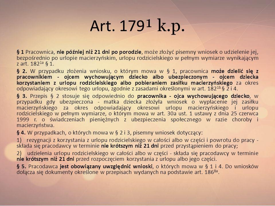 Art. 179¹ k.p.