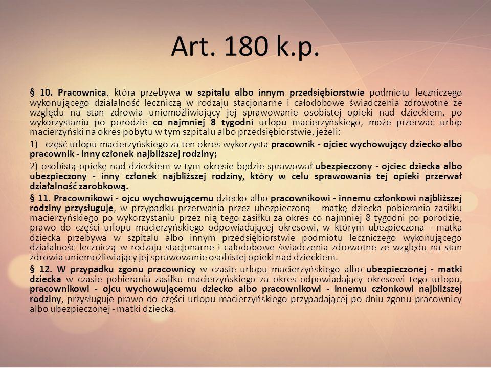Art. 180 k.p.