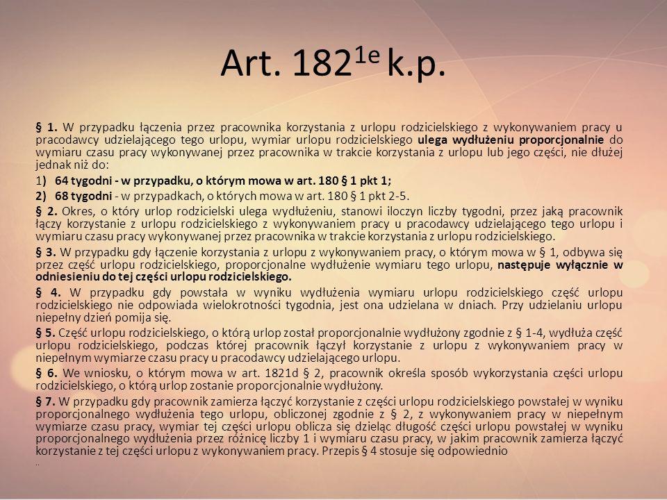 Art. 1821e k.p.