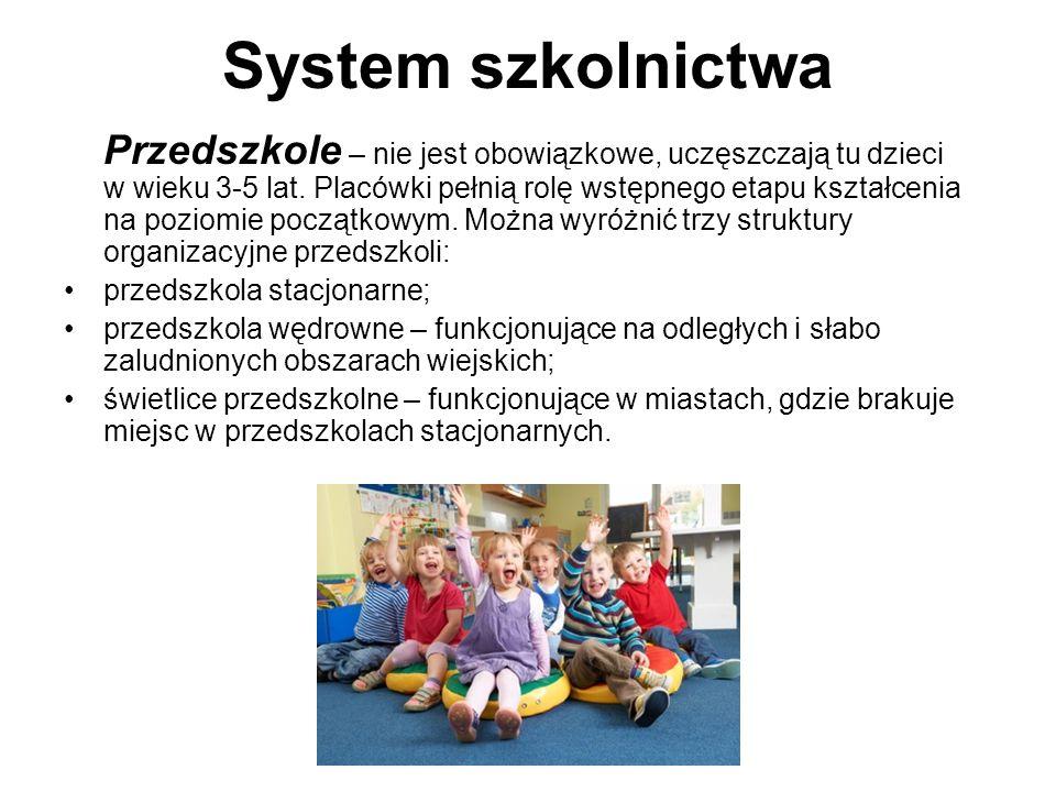 System szkolnictwa