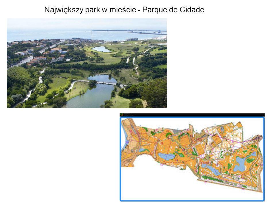 Największy park w mieście - Parque de Cidade