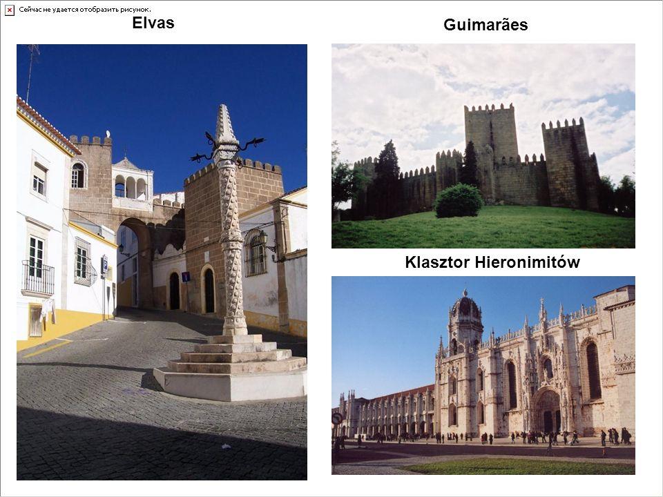 Guimarães Elvas Klasztor Hieronimitów