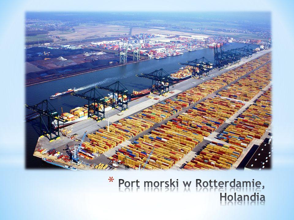 Port morski w Rotterdamie, Holandia