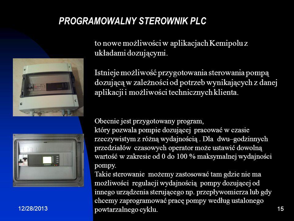 PROGRAMOWALNY STEROWNIK PLC