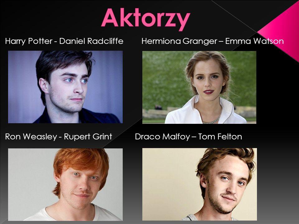 Aktorzy Harry Potter - Daniel Radcliffe Hermiona Granger – Emma Watson