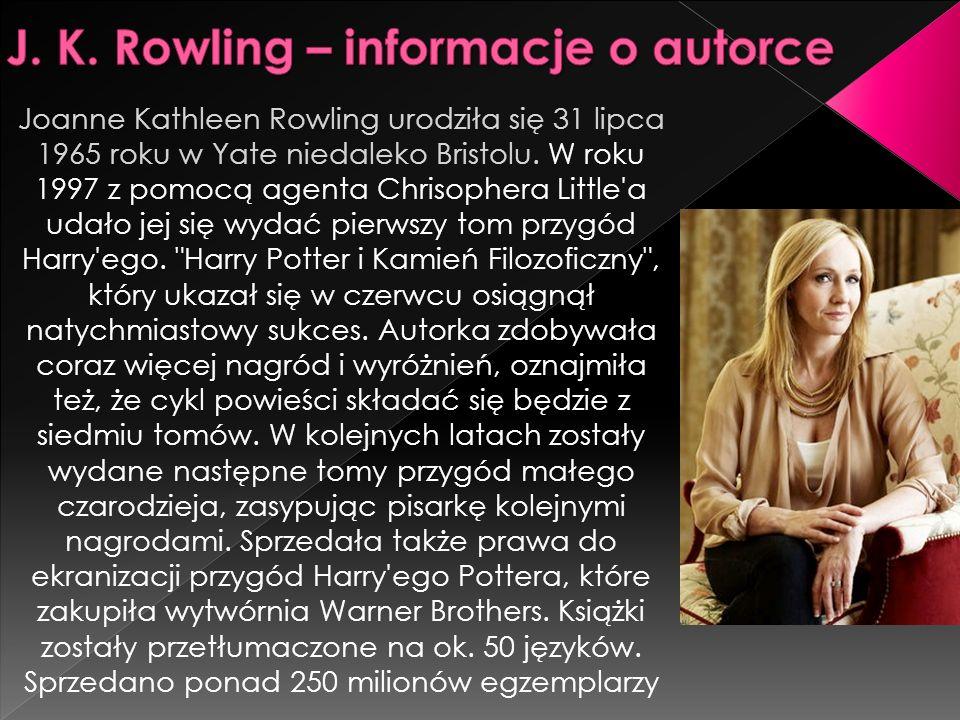 J. K. Rowling – informacje o autorce
