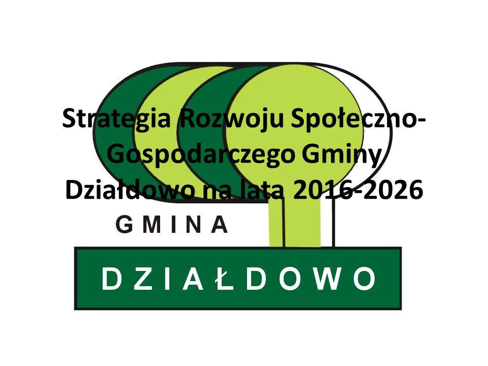Strategia Rozwoju Społeczno-Gospodarczego Gminy Działdowo na lata 2016-2026